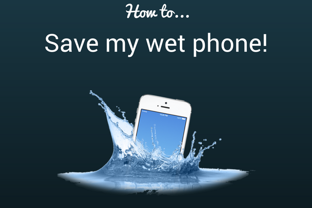 how to save my wet phone blog image