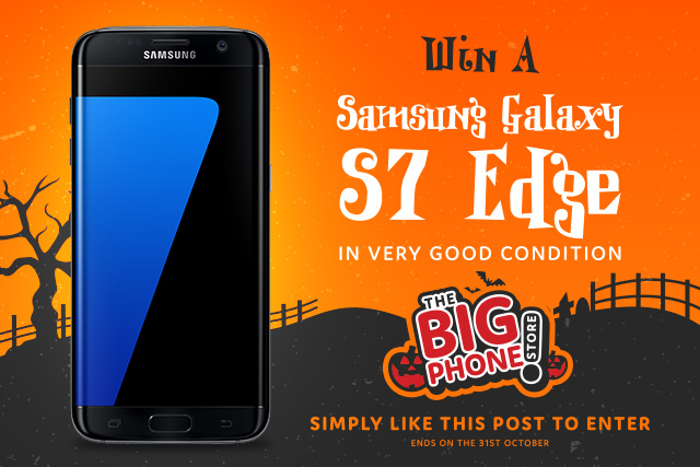 Prize draw: Win a Samsung Galaxy S7 Edge