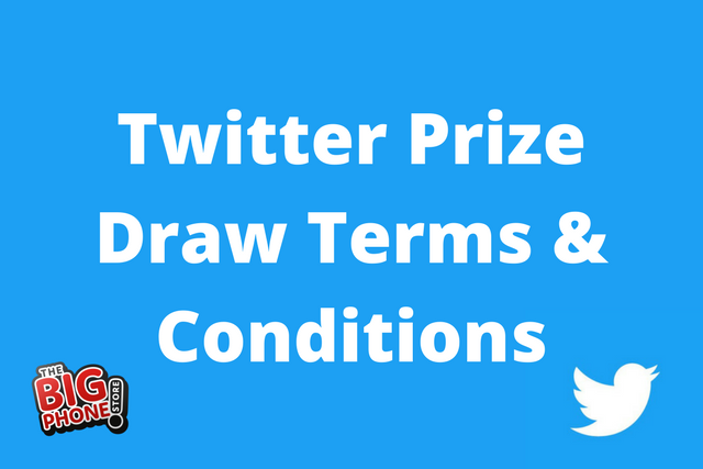 Twitter Prize Draw Terms & Conditions