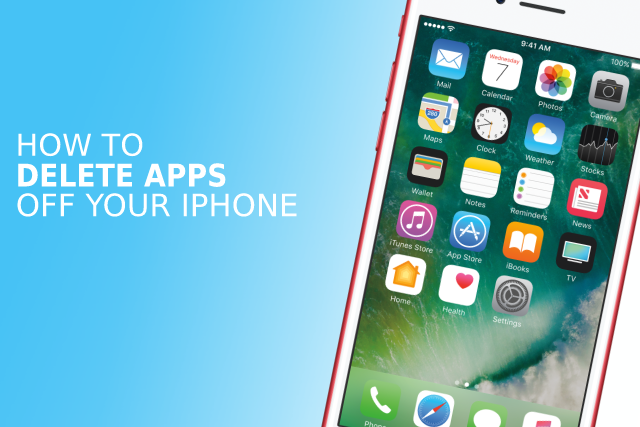 how to take apps off iphone