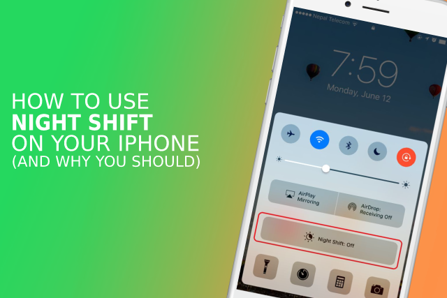 How to use Night Shift on your iPhone