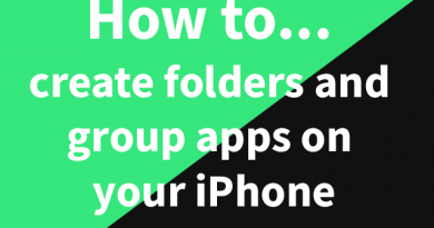How to create folders and group apps on your iPhone