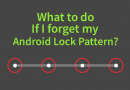 What to do if I forget my Android lock pattern?