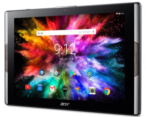 Picture of Acer tablet on home screen